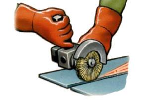 Механическая очистка поверхности перед сваркой