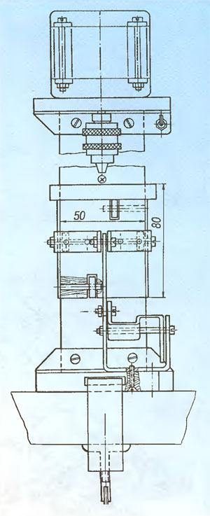 Схема сверлильного станка.