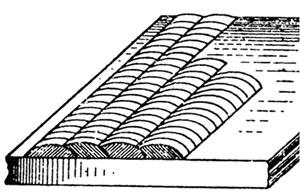 Наплавка металла узкими валиками