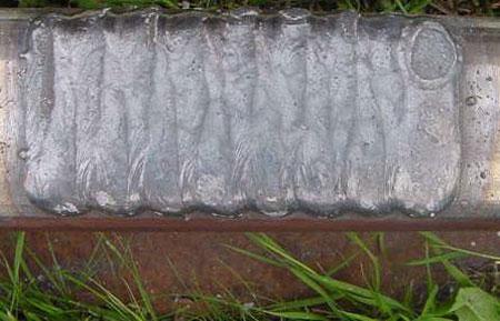 Наплавка металла широкими поперечными движениями электрода