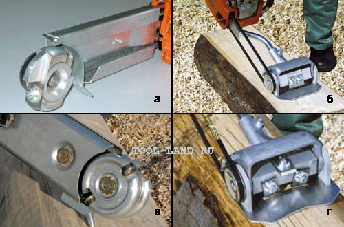 Дебаркеры с различной формой рабочего инструмента