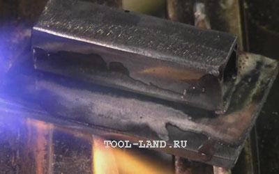Пайка металла: нанесение флюса