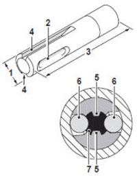 Хвостовик для патрона SDS-top
