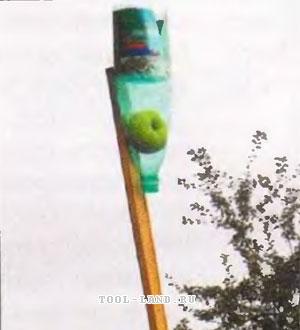 Плодосъёмник для яблок своими руками