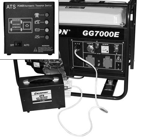 ATS компании Champion для бензинового генератора GG7000E