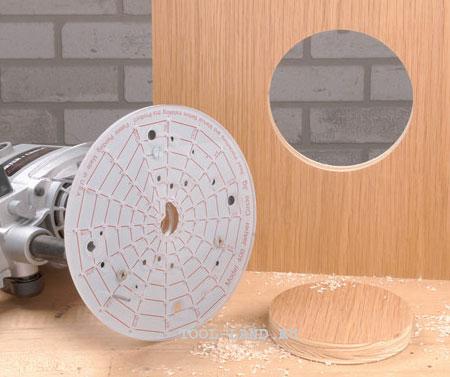 Приспособление для фрезерования окружности маленького диаметра