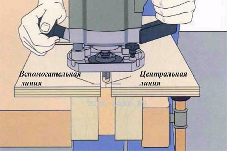 Фрезерование паза в узкой поверхности