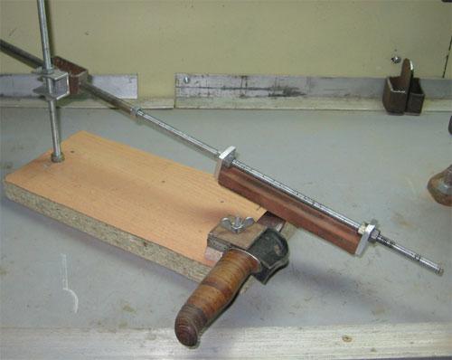 Приспособления для заточки ножей своими руками чертежи