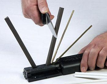 Приспособление Tri-Angle Sharpmaker фирмы Spyderco