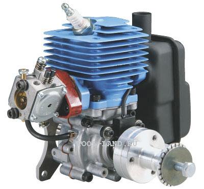 Двухтактный бензиновый двигатель для авиамоделей