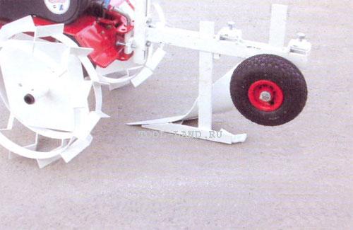 Грядиль с опорным колесом