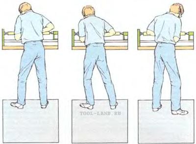 Движение тела при работе на токарном станке