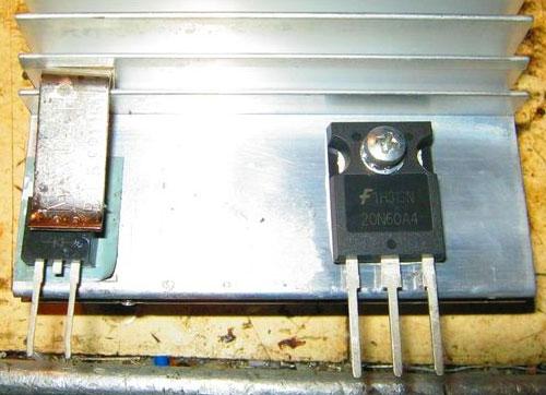 Транзистор сварочного инвертора