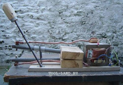 Самодельный аппарат точечной