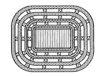 Катушка сварочного трансформатора с вентиляционными щелями