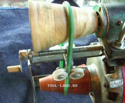 Использование ремня с круглым сечением