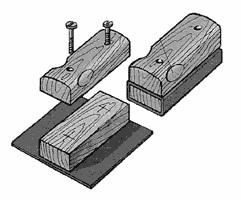 Самодельная колодка для шлифовки