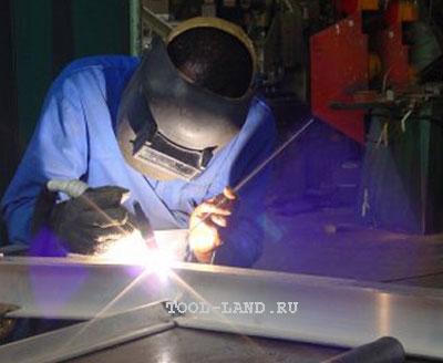 Сварка нержавеющей стали вольфрамовым электродом в среде аргона