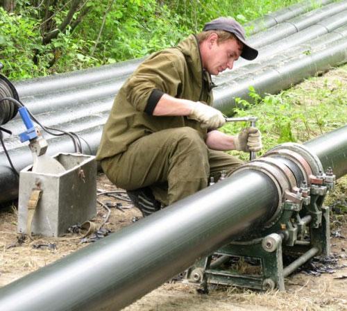 Сварка полиэтиленовых газопроводов