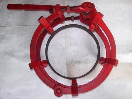 Приспособление для сварки труб: звенный центратор