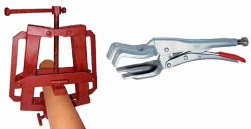 Приспособления для сварки труб: центратор-струбцина СМ151 и центратор-струбцина ЦС3