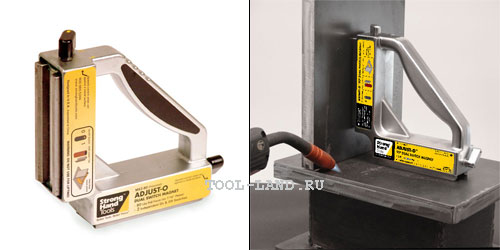 Магнитный угольник Strong Hand Tools