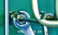 Использование ключа с разомкнутым кольцом