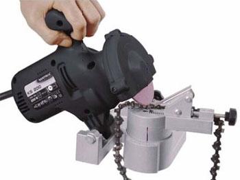 Как правильно заточить цепь бензопилы