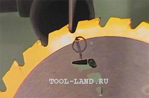 Заточка дисковых пил своими руками видео